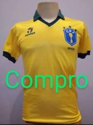 Camisa Brasil Topper