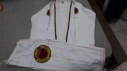 Kimono Jiu Jitsu (Branco) Dragão A3