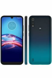 Motorola Moto e6s Azul Navy 64GB, novo lacrado,  1 ano de  garantia de fabrica