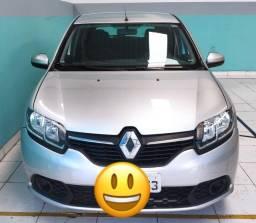 Renault Sandero Expr 1.0 => Branco, Final de Placa 3, Flex e Completo (Excelente Estado)