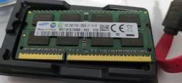 Título do anúncio: Memória ram para Notebook DDR3L 8Gb 1600mhz