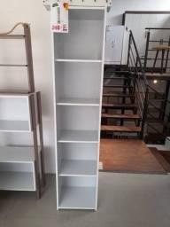 Título do anúncio: Estante modelo biblioteca - Branca