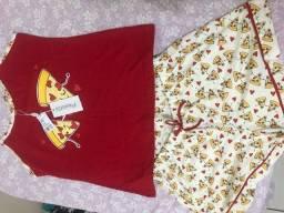 pijama novo tamanho M