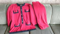 Título do anúncio: Conjunto Tam G (50) com blusa mais alongada e saia<br>