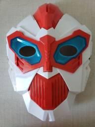 Máscara infantil Robô com luz e som