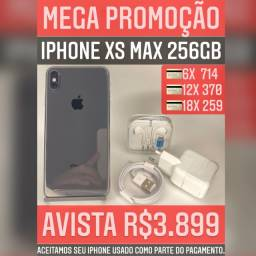 iPhone XS Max 256gb, aceitamos seu iPhone usado como parte do pagamento.