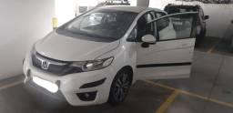 Honda Fit Ipva 2021 Pago Top de linha EXL 2015- proprietária mulher