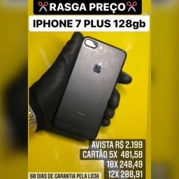iPhone 7 Plus 128gb, aceitamos seu iPhone usado como parte do pagamento.