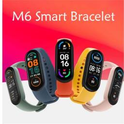 Título do anúncio: Relógio smartwatch pulseira inteligente m6 fitness Smart Band pronta entrega