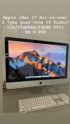 Título do anúncio: iMac 27 2011 em perfeito estado