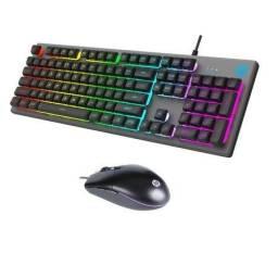 Título do anúncio: Teclado Gamer c/ retroiluminação + Mouse gamer RGB 6400DPI novo e garantia