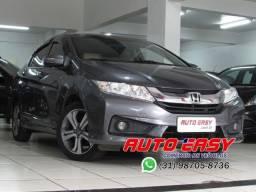 Honda City LX 1.5 Automático, C/Multimídia e Couro!