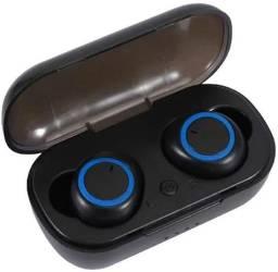 Fone De Ouvido Dual Bluetooth 5.0 Tws-5 Sem Fio Duplo Air