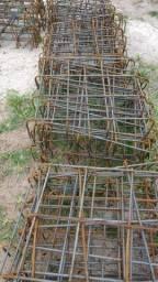 (Promoção relâmpago) Sapata aranha amarrada - 50x50x10 - 6 ferros - 5/16