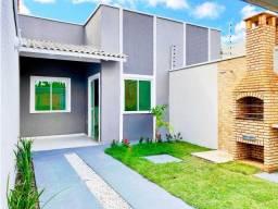 Lindas Casas de Alto Padrão no Parq Albano, 2 Suites, 70m2, Deck Churrasqueira.