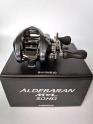Carretilha Shimano® Aldebaran MGL 50/51HG - Direita e Esquerda - NOVA