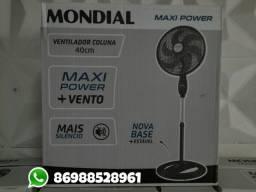 Ventilador coluna Mondial 40cm turbo entrega grátis