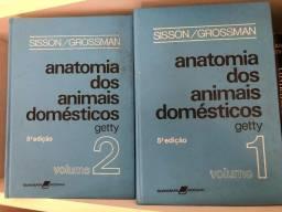 Livro Sisson Grossman anatomia dos animais domésticos