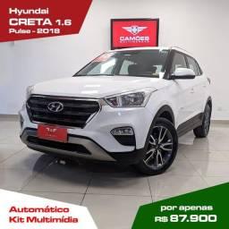 Título do anúncio: Hyundai Creta 1.6 FLEX Pulse Automático