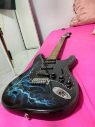 Vendo ou troco Kit Guitarra e cubo amplificador