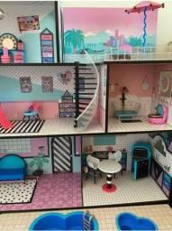 Playset Casa lol surprise o.m.g candide /  Lol Surprise House muito nova