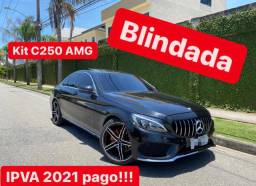 Mercedes C200 2017 Kit C250 Blindada!!!