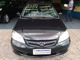 Honda Civic LXL Manual 2005 Completo! Revisado, Top!