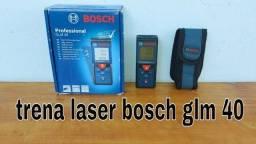 Trena a laser bosch GLM 40 professional - NOVA (na caixa)