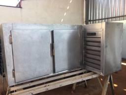 Balcão refrigerado aço inox 220v