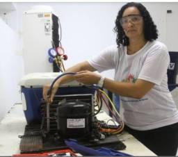 Título do anúncio: Conserto de geladeira técnico em Refrigeração