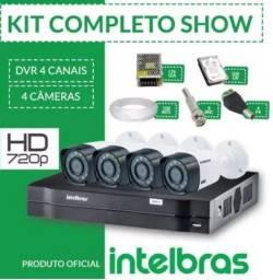 Locação Sistema CFTV Intelbras