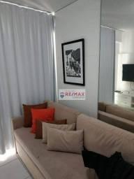 Título do anúncio: Flat com 1 dormitório para alugar, 36 m² por R$ 1.700,00/mês - Boa Viagem - Recife/PE
