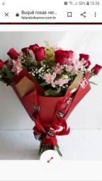 Bouquet de rosas Dia da Mulher