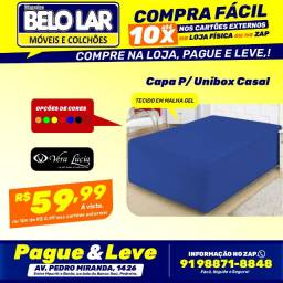 Capa Para Unibox Casal, Compre no zap *