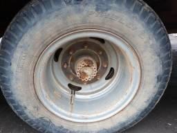 Diferencial completo com rodas e pneus 1113