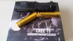 Lanterna Tática CREE T5 Forte