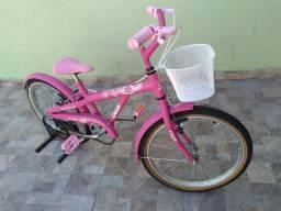 Bicicleta Caloi Luli com cestinha