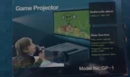 Mini Projetor HD 80 PLG Completo novo