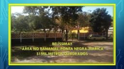Oportunidade!! Excelente área no Bananal em Ponta Negra - Maricá