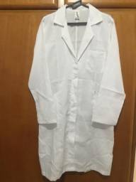 Avental jaleco branco comprar usado  São Paulo