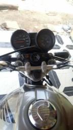 Moto Fan 150 Dut em branco - 2011