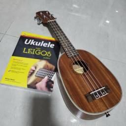 Ukulele Soprano Deviser + método (Livro) + CD - Novo!