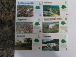 Cartões telefônicos Cidades do Paraná