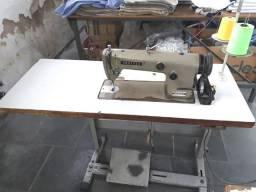 Máquina de costura reta industrial, marca Brother