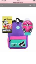 Mochila Mickey Vintage c/ Fone