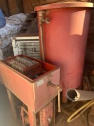 Bombas de oleo diesel e filtro Metalsinter - Tudo funcionando!
