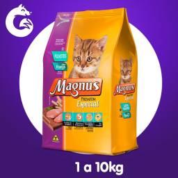 Ração Magnus Premium Especial Gatos Filhotes Sabor Frango