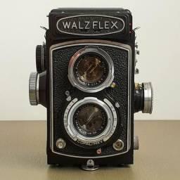 Câmera Fotográfica TLR Médio Formato Walzflex Metered Sears Tower 65 raríssima!