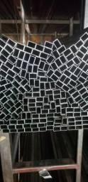 Tubo retangular 30x20 - Metal Rápido
