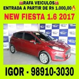 Ford NEW FIESTA 1.6 Flex 2017 1 mil de entrada, falar com Igor tt